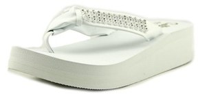 Callisto St. Croix Open Toe Synthetic Wedge Sandal.