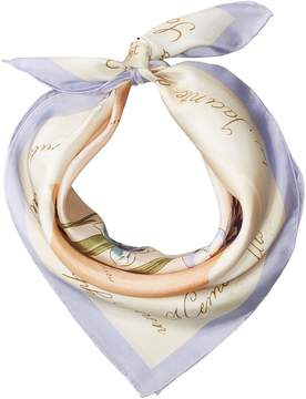 Lauren Ralph Lauren Stephanie Silk Square Scarf Scarves