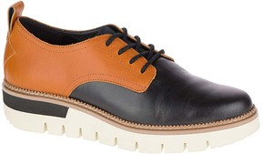CAT Footwear Black & Tan Windup Leather Oxford