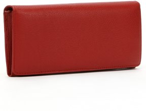 Dopp Leather Expandable Clutch Wallet