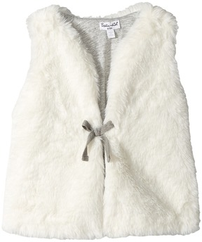 Splendid Littles Faux Fur Vest Girl's Vest