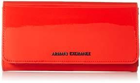 Armani Exchange A X Contnental Patent Wallet