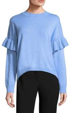 BOSS Francisca Ruffle-Sleeve Sweater
