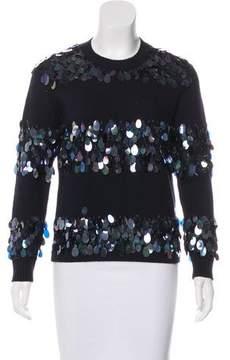 Dries Van Noten Wool Paillette Sweater