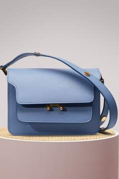 Marni Mini Trunk Shoulder Bag in Calfskin