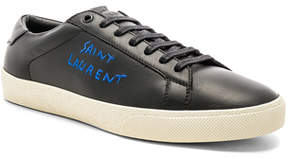 Saint Laurent Leather SL/06 Court Classic
