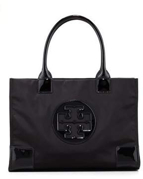 Tory Burch Mini Ella Tote Bag, Black - BLACK - STYLE
