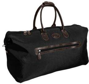 Bric's 22 Canvas/Leather Weekender Bag