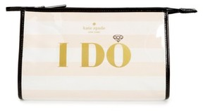 Kate Spade Wedding Belles - I Do/i Did Pouch - WHITE - STYLE
