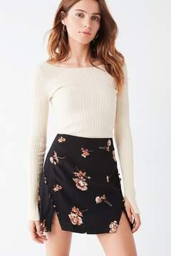 Capulet Ida Button Notch Mini Skirt