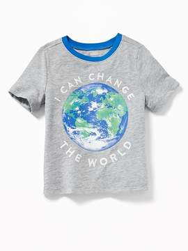 Old Navy Earth Day-Graphic Tee for Toddler Boys