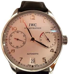 IWC Portugieser IW500704 42.3mm Automatic Black Strap Watch