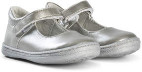 Primigi Silver Mary Jane Shoes
