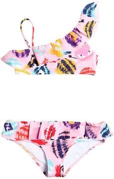 Fendi Pompom Print Lycra Bikini