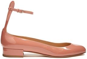 Francesco Russo Patent-leather ballet flats