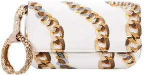 Roberto Cavalli Silk clutch bag