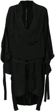 Barbara I Gongini asymmetric layered shirt