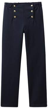 Petit Bateau Girl's pants with flap