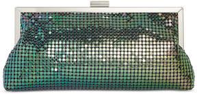 INC International Concepts I.n.c. Khyler Mesh Frame Clutch, Created for Macy's