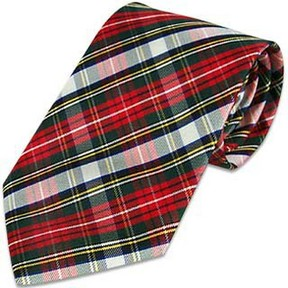 Forzieri Plaid Silk Tie