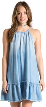 Bella Dahl Fray Ruffle Halter Dress-Vintage Zion Wash-XS