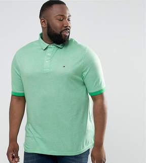Tommy Hilfiger PLUS Boris Polo Slim Fit Flag Logo in Green