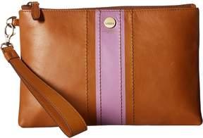 Lodis Rodeo Stripe RFID Koto Wristlet Pouch Handbags