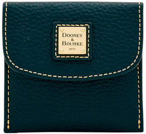 Dooney & Bourke Pebble Grain Credit Card Flap Wallet - BLACK BLACK - STYLE