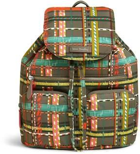 Vera Bradley Midtown Cargo Backpack - PREPPY POLY CITY PLAID - STYLE
