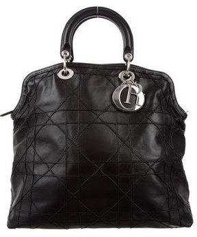 Christian Dior Cannage Granville Tote