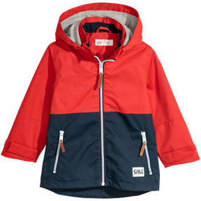 H&M Hooded Shell Jacket - Red