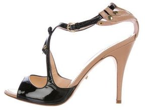 Jerome C. Rousseau Sphinx Bow-Embellished Sandals