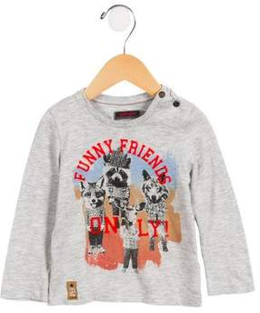 Catimini Boys' Long Sleeve Graphic Shirt