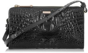Brahmin Sienna Leather Crossbody Bag - Black