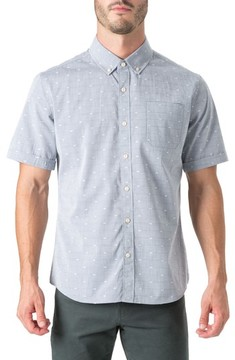 7 Diamonds Men's Revolution Rock Woven Shirt
