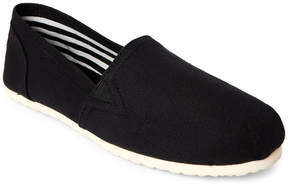 Esprit Black Toso Canvas Slip Ons