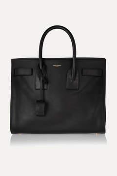 Saint Laurent - Sac De Jour Small Leather Tote - Black