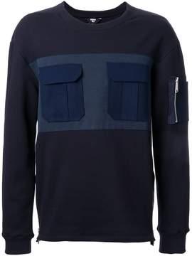 General Idea front pockets sweatshirt