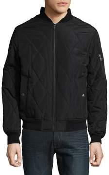 Weatherproof Woven Quilt Jacket
