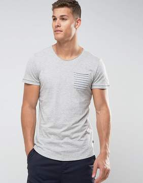 Tom Tailor T-Shirt With Stripe Pocket