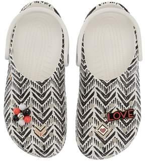 Crocs Drew x Classic Chevron Clog Women's Clog Shoes