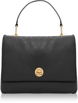 Coccinelle Liya Large Genuine Leather Satchel Bag
