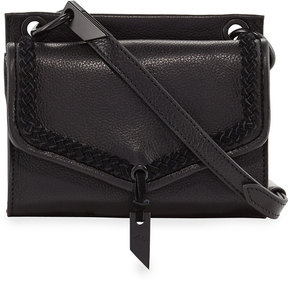 Foley + Corinna Ami Leather Mini Crossbody Bag, Black