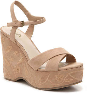 Mia Women's Willa Wedge Sandal