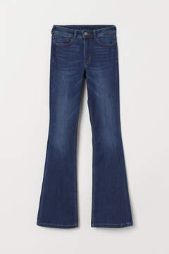H&M – Mini Flare Regular Jeans – Blue