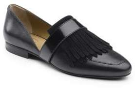 G.H. Bass Harlow Leather Fringe Loafers