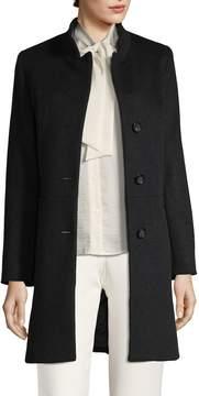 Cinzia Rocca Women's Welted Pocket Long Coat