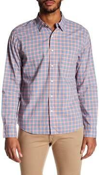 Faherty BRAND Ventura Check Trim Fit Sport Shirt