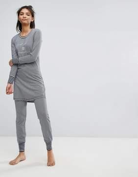 Esprit Striped Pajama Bottoms