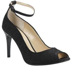 J. Renee Women's Raspalli Ankle Strap Peep Toe Pump